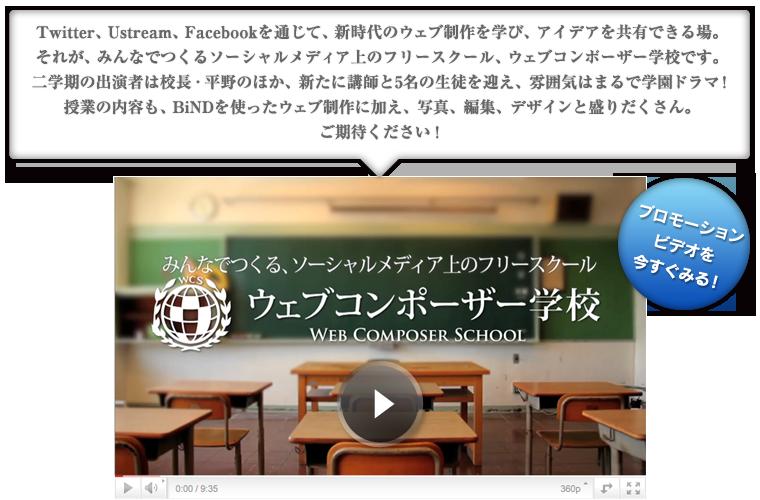 ウェブコンポーザー学校