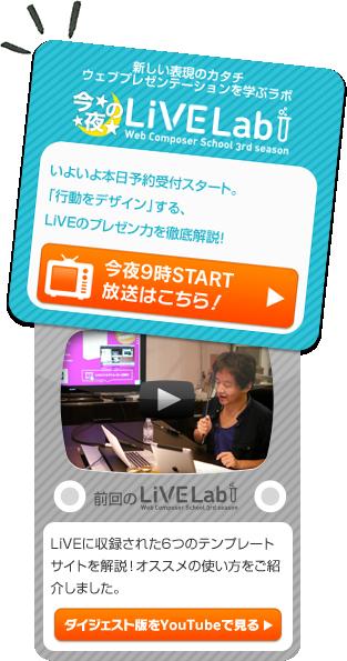 今夜のLiVE Lab